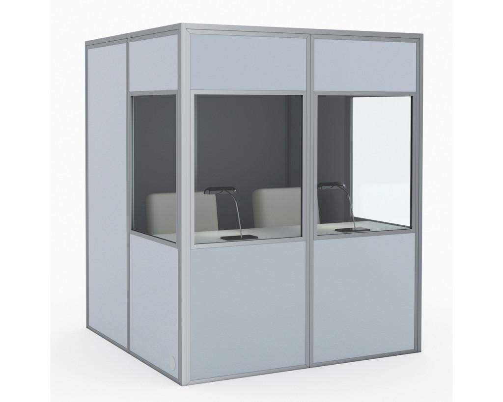 kabíny pre 2 osoby